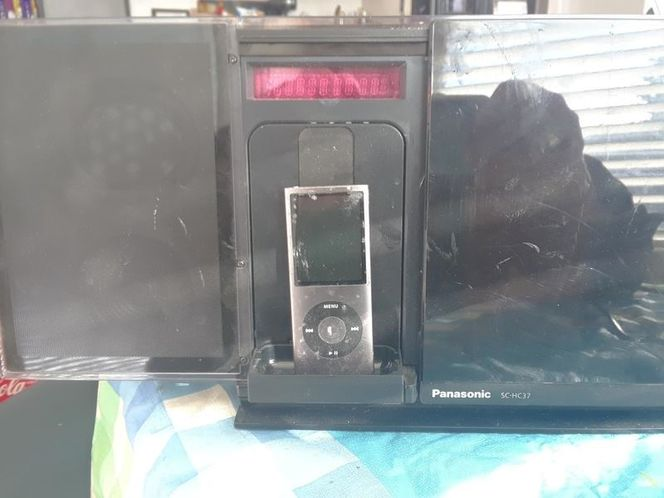 Panasonic am/FM- CD player I pod in good condition for sale in Salt Lake City , UT