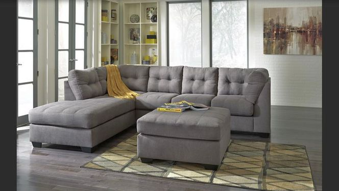 Brand New LAF  452 Gray Sectional Sofa for sale in Midvale , UT
