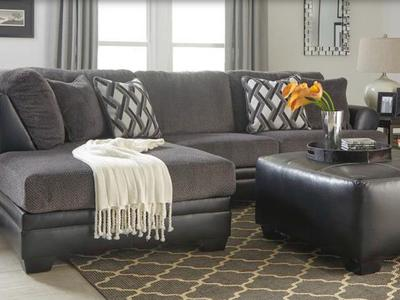 New LAF 322 Chaise Sectional Sofa