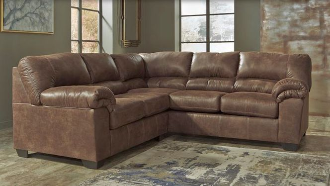 New Brown 120 2 Pc. Sectional for sale in Midvale , UT