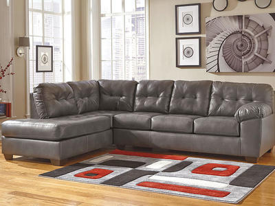 Faux Leather Sectional