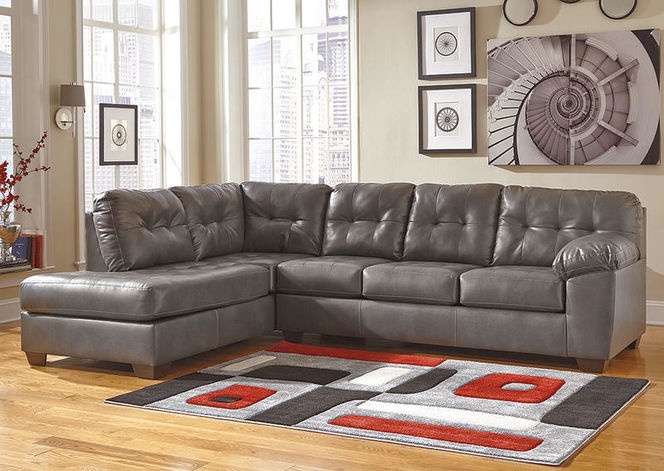 201 Faux Leather Sectional for sale in Midvale , UT
