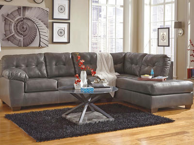Gray RAF Chaise Sectional