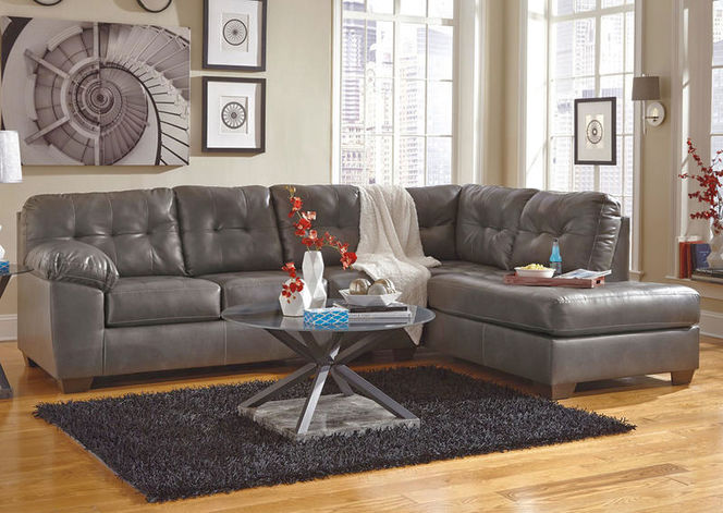 201 Gray RAF Chaise Sectional for sale in Midvale , UT