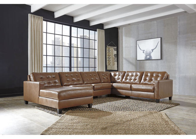 111 Leather Sectional for sale in Midvale , UT