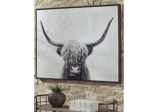 Pancho Black/White Wall Art for sale in Midvale , UT