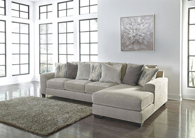 395 Pewter 2 Piece RAF Sectional for sale in Midvale , UT