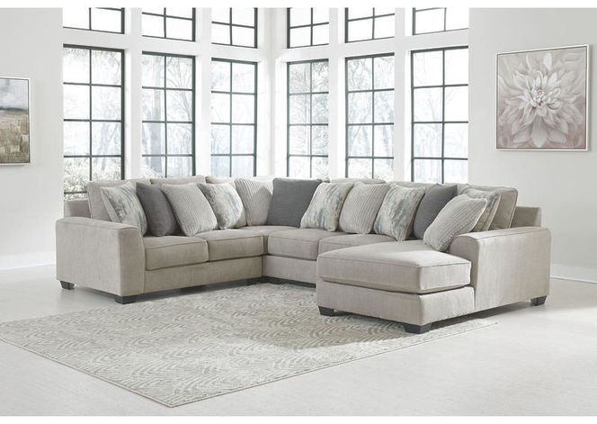 395 Pewter Right Arm Facing Sectional for sale in Midvale , UT