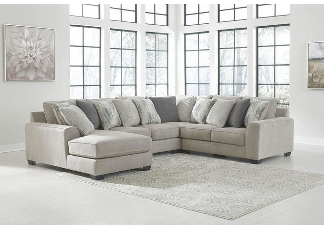 395 Pewter Left Arm Facing Sectional for sale in Midvale , UT