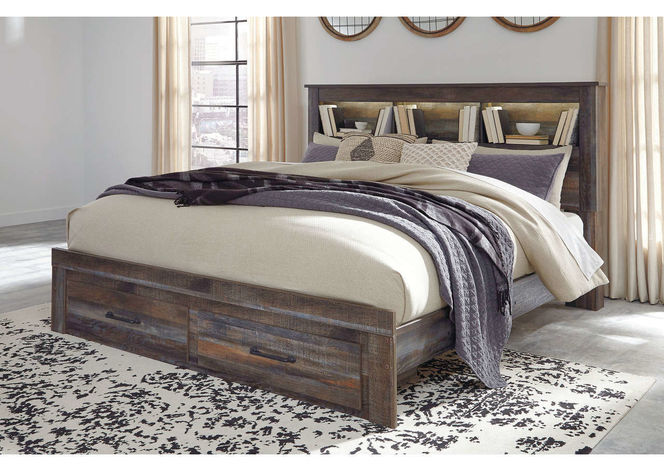 B211 King Bed with Footboard Storage for sale in Midvale , UT