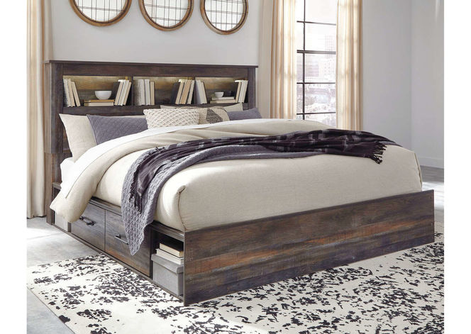 B211 King Bed with Side Storage for sale in Midvale , UT