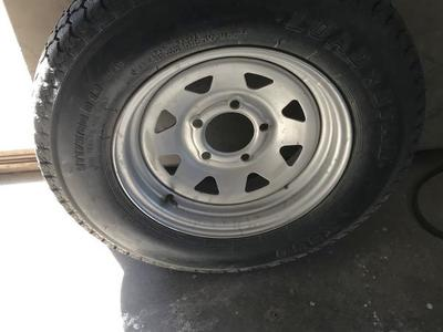 Spare tire and wheel New