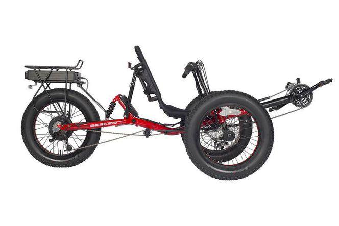 Fat Tire Full Suspension Recumbent Trike Ebike New for sale in West Jordan , UT