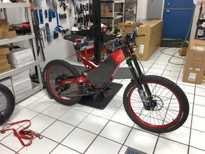 HPC Full suspension Electric Bike 64 MPH Fast new