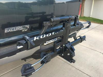 Kuatt Bike Rack NV 2 With Repair Stand Near New