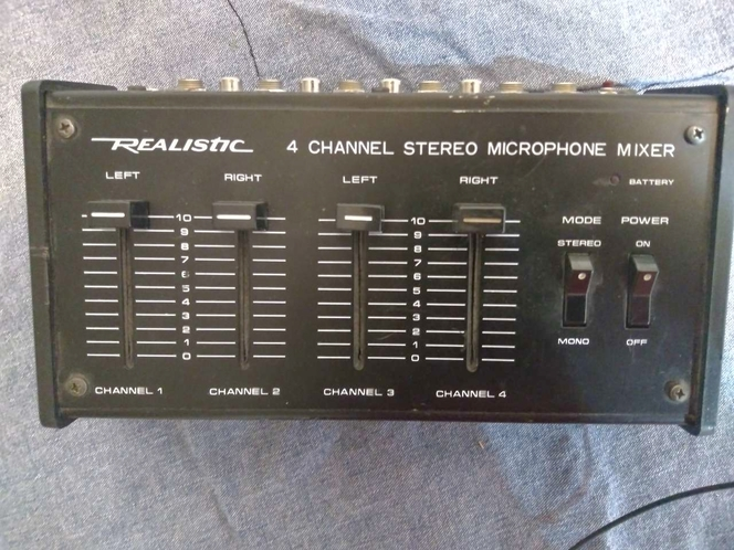 Realistic 4 Channel Stereo Mixer for sale in Eagle Mountain , UT