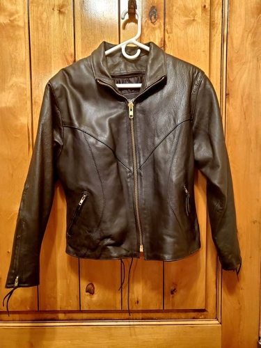 Womens Leather motorcycle Jacket for sale in Saratoga Springs , UT