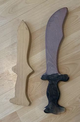 Two Wooden Toy Swords for sale in Murray , UT