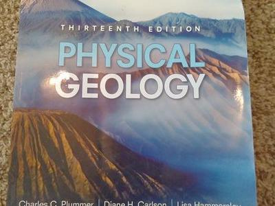 13th edition physical geology by Charles plumber and Diane Carlson