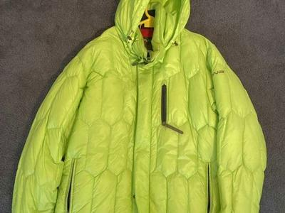 Descente Down Puffy Jacket: Size XL