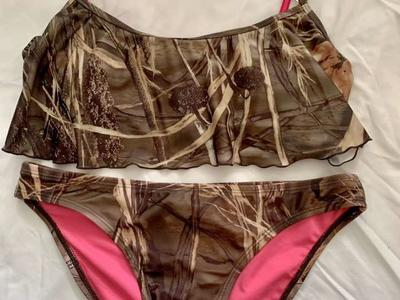 Mossy Oak Country Camo  2pc Swimsuit