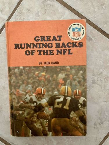 Great Running Backs of the NFL by Jack Hand  for sale in Midvale , UT