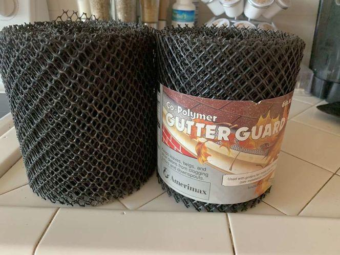 "Co-Polymer Gutter Guard 6""x 20ft rolls x2 for sale in Midvale , UT"