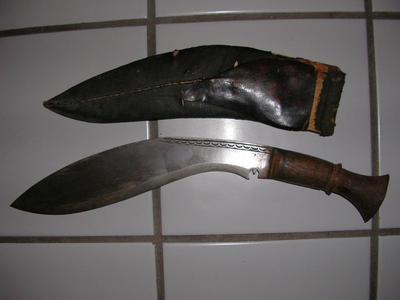 Rare Antique Kukri Knife for Silver or gold coins