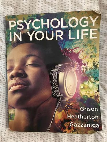 Psychology in Your Life Textbook First Edition for sale in South Jordan , UT