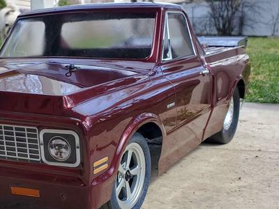 1972 Chevy C/10 Drag Truck