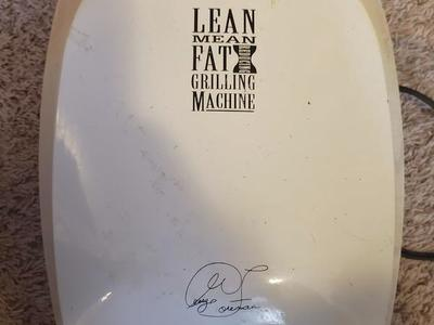 George Foreman Lean Mean Fat Grilling Machine.