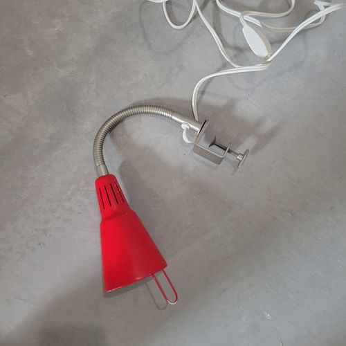 Small clamp on red lamp for sale in Tooele , UT