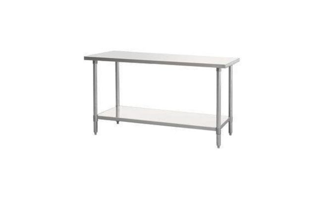 NSF Stainless Steel Tables available with back spl for sale in Salt Lake City , UT