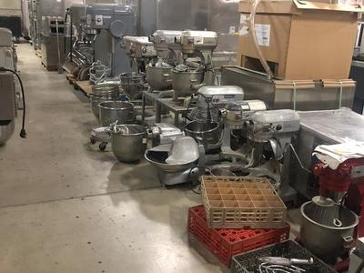 Used Mixers Great shape 20 30 60 qt mixers