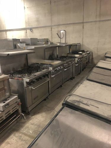 Used Ranges 6 burners mixed tops ready to go for sale in Salt Lake City , UT