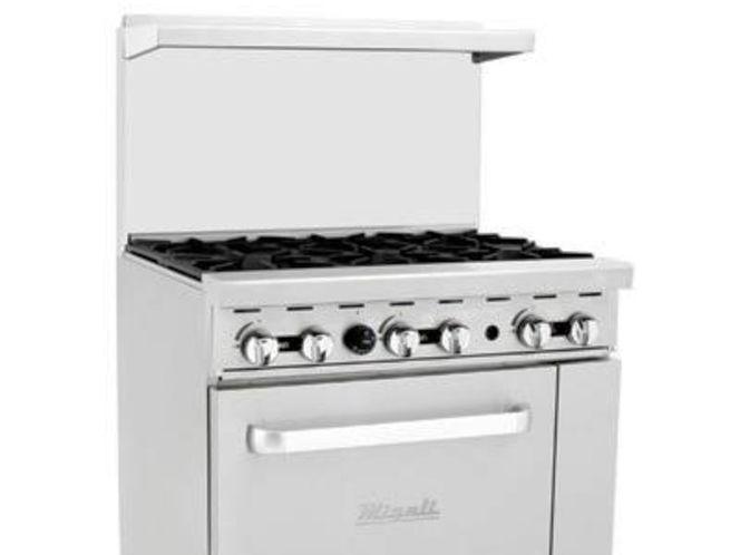 New 6 Burner Range w/ Oven, Nat Gas or LP for sale in Salt Lake City , UT