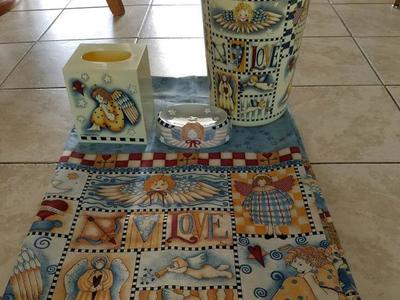 4 Piece Angel Bathroom Set For Sale!!!