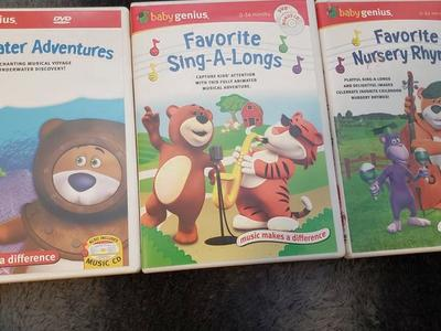 Selling 3 baby genius dvds!