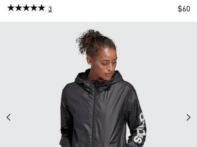 Women's Adidas Windbreaker Jacket!