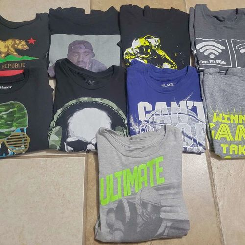Boys Lot Of Shirts For Sale Size 7/8-8 for sale in Ogden , UT