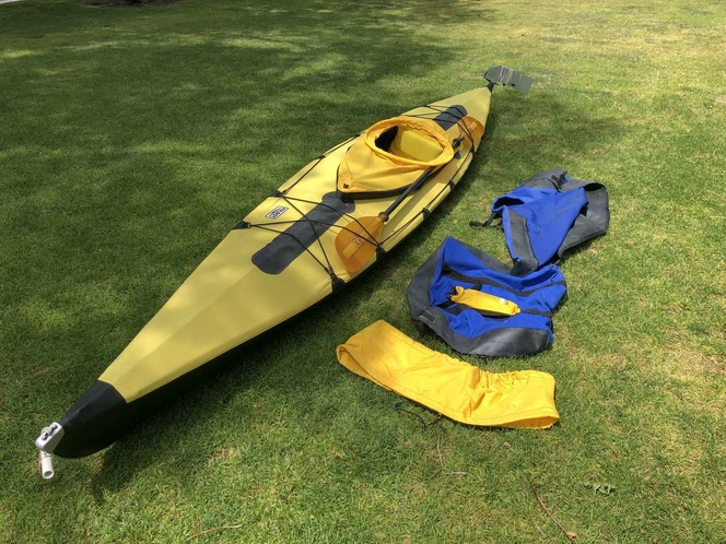 Folbot Yellow Kodiak Kayak for sale in Copperton , UT