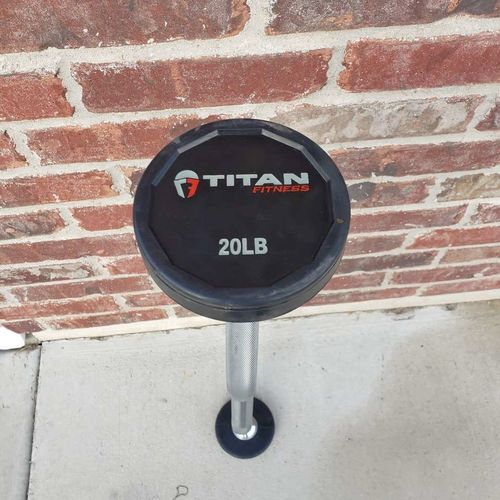 20lb fixed curl bar for sale in Farr West , UT