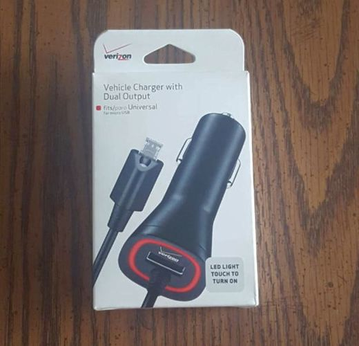 Verizon Vehicle Charger with Dual Output for sale in Salt Lake City , UT