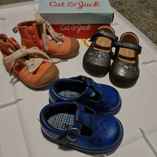$20 for all Size 4 toddler shoes for sale in Roy , UT