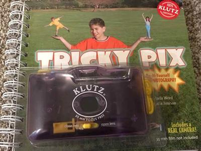 Vintage Klutz Trick Pix Camera And Guide Book