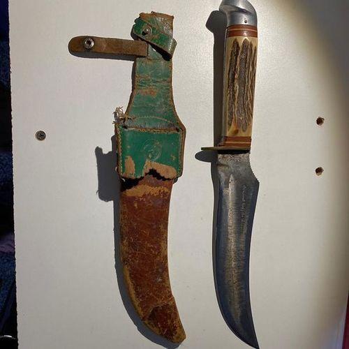 Original Buffalo Skinner Knife - Solingen Germany for sale in Syracuse , UT