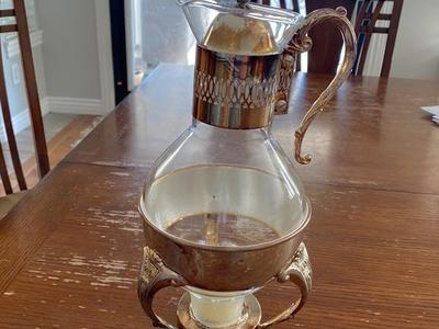 Antique Silver plated coffee / tea carafes