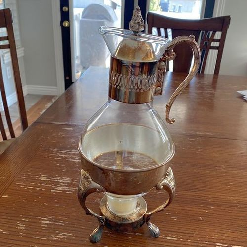 Antique Silver plated coffee / tea carafes for sale in Syracuse , UT