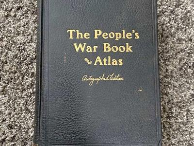 The People's War Book and Atlas - Autographed