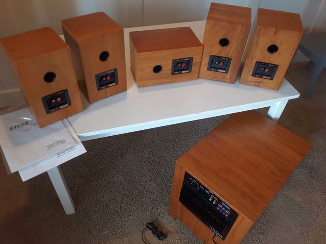 High quality hardwood stereo surround sound system for sale in Saratoga Springs , UT